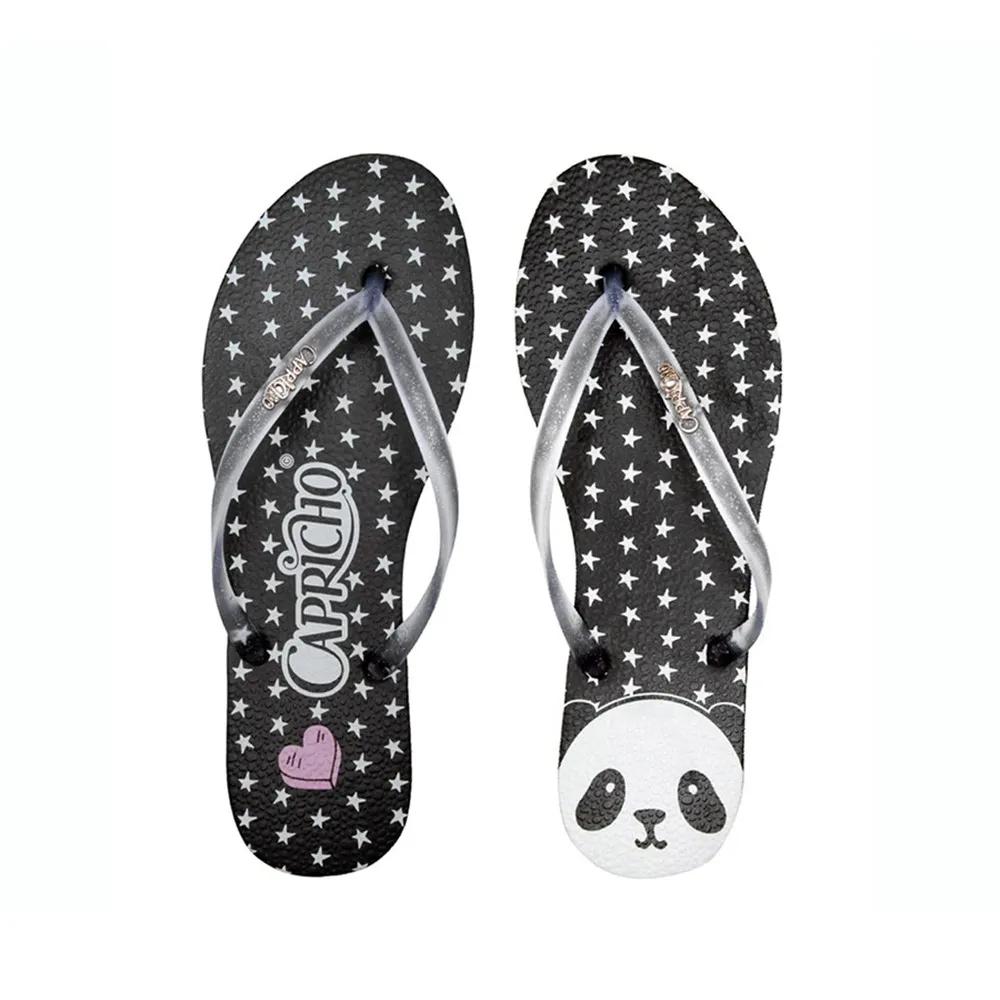 Chinelo Feminino Menina Panda Star Capricho