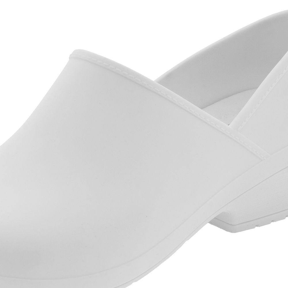 Sapato Branco Preto Enfermagem Cozinha Boaonda Profissional