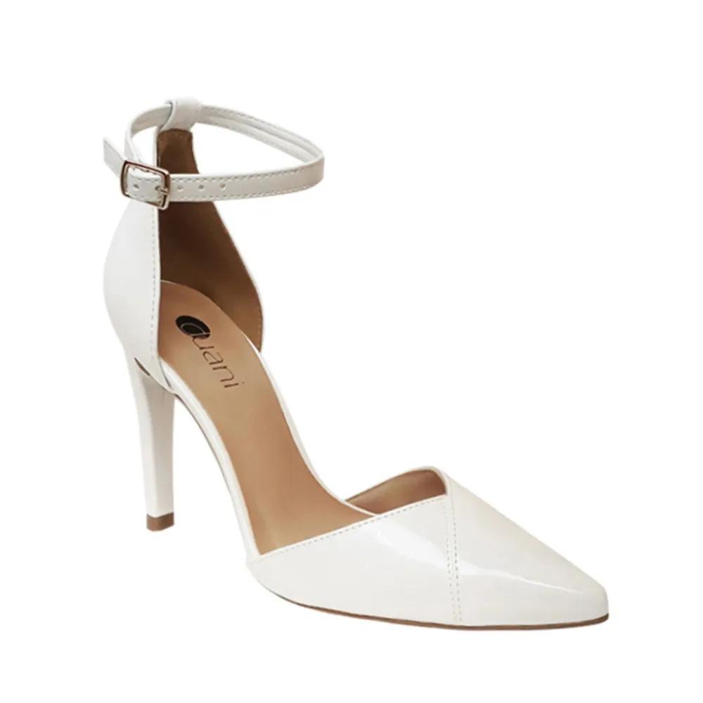 Sapato Noiva Scarpin Branco Salto Alto