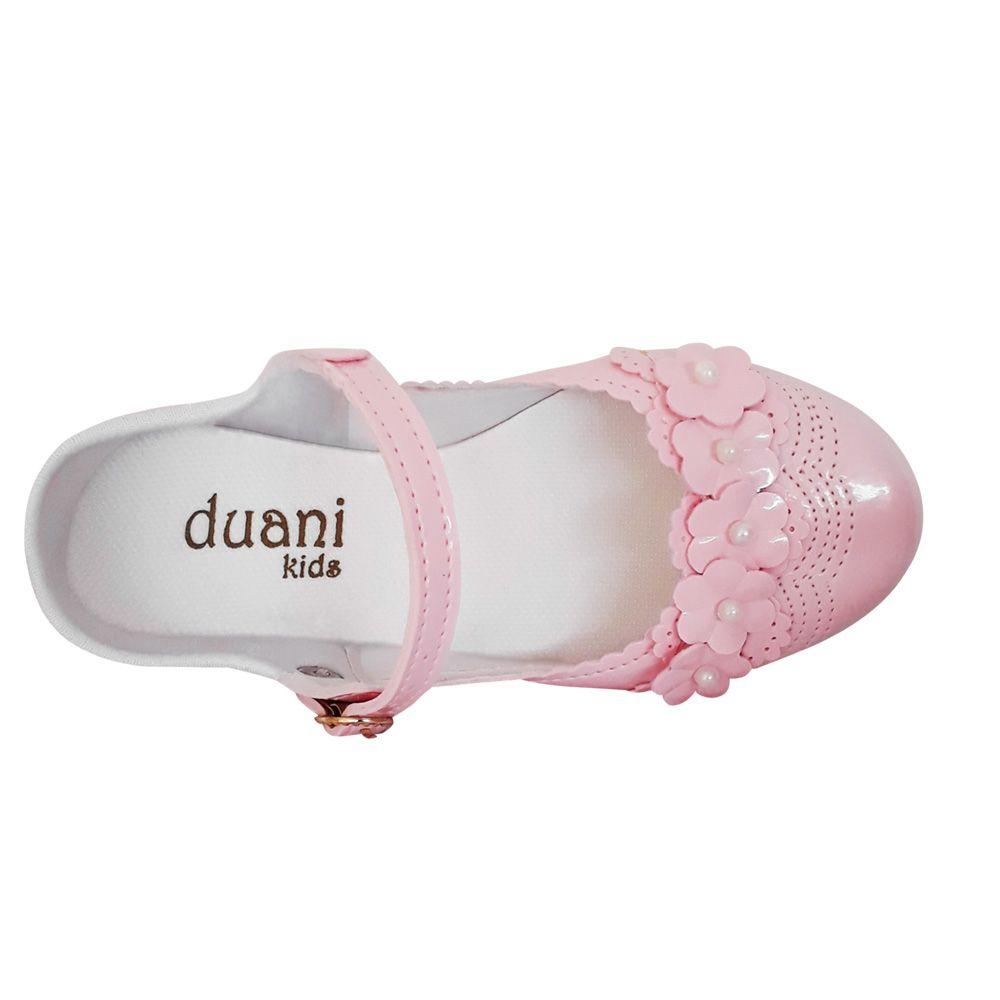 Sapato Sapatilha Boneca Infantil Menina Rosa Verniz Daminha Noivinha Festa