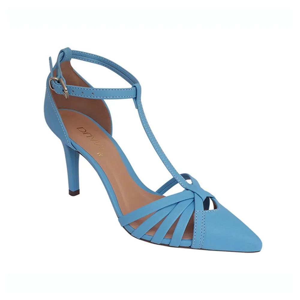 Sapato Scarpin Azul Tiffany  Noiva Madrinha Festa