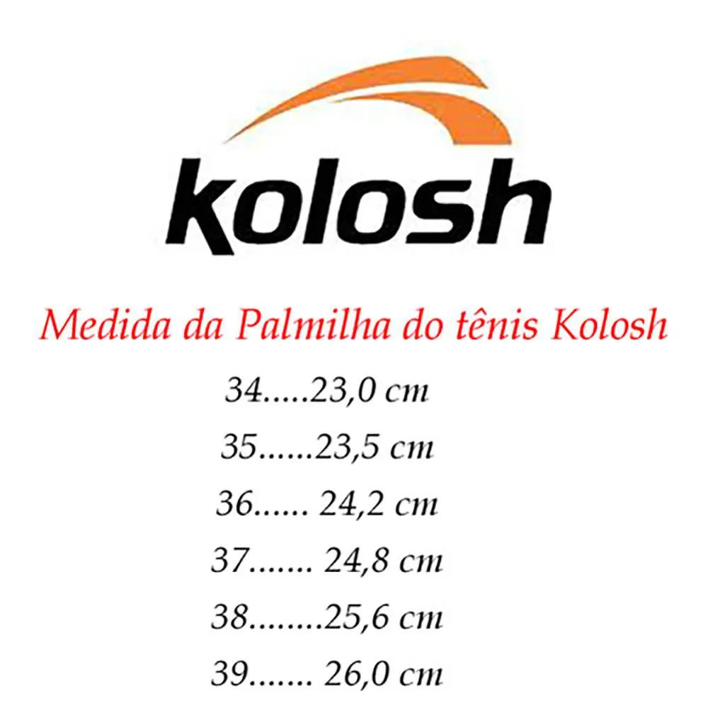 Tenis Feminino Branco Enfermagem Kolosh Comfort Calce Fácil