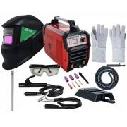 Inversora De Solda Tocha Tig 220v Mma 238 Mascara Brax Kit