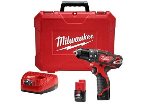 Parafusadeira Furadeira De Impacto 3/8 M12 Milwaukee 2408