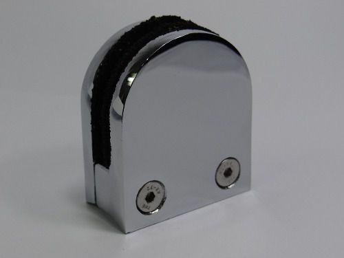 Presilha De Vidro Alumínio 8 Mm Gv08 - Acessórios Artech