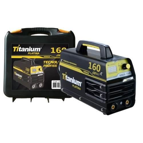 Inversora De Solda 160amp Bivolt Titanium Masc Brax Auto