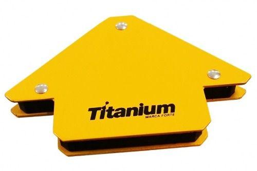 Esquadro Magnetico Titanium - 12kg - Para Solda