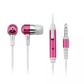 Fone De Ouvido Multilaser Auricular Rosa C/microfone Ph061