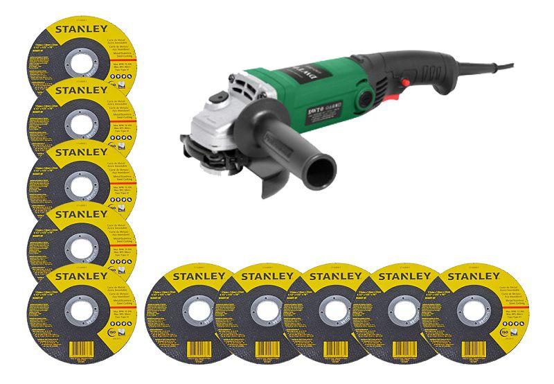 Esmerilhadeira Angular 4 1/2 860w EAD-860 DWT + 10 discos