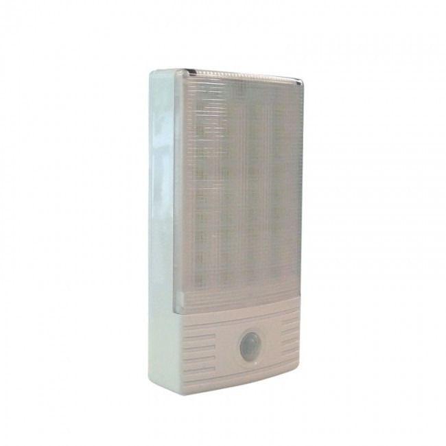 Luminária Multifunção LED a bateria c/sensor 288 Lumens Segurimax