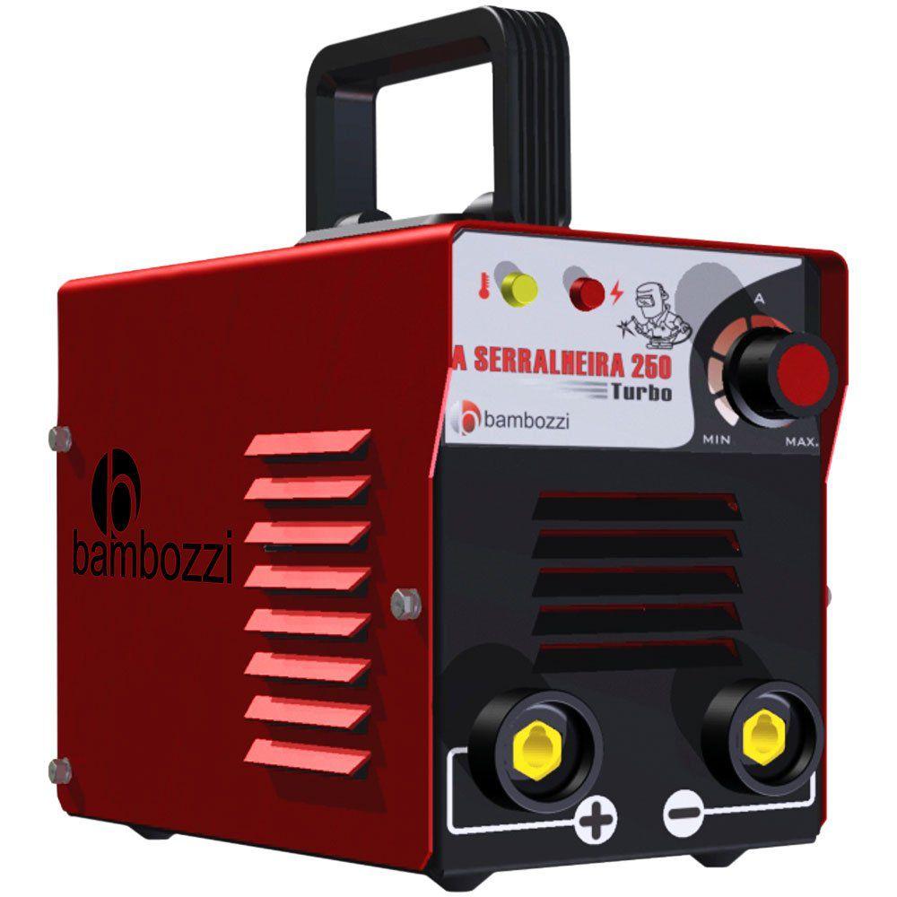 Máquina de solda Serralheira 250 bv Bambozzi masc BRax