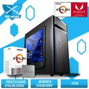 Bs Gamer AMD Athlon 200GE 3.2GHZ, 8GB DDR4, HD 1TB, 500W