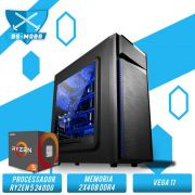 Bs Gamer AMD Ryzen 5 2400G 3.5GHz, 8GB DDR4, HD 1TB, 500W