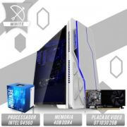 Bs Gamer Intel G4560 3.50GHZ 3MB, 4GB DDR4, HD 1TB, 500W,  GT 1030 2GB