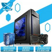 Bs Gamer Intel G4560 3.50GHZ 3MB, 8GB DDR4, HD 1TB, 500W, Gtx 1050TI 4GB