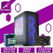 Bs Gamer Intel Kaby Lake Core i5 7400 3.00 GHz 6MB,8Gb DDR4, HD1TB, 500W, GTX 1050Ti 4GB