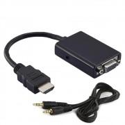 Cabo Adaptador HDMI para VGA + Audio - 7108
