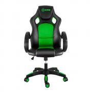 Cadeira Gamer Xzone CGR-02 Almofada Encosto Preto Verde