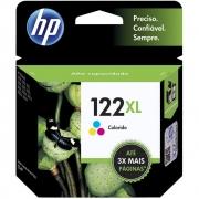 Cartucho de Tinta HP 122XL Colorido