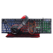 Combo Marvo Scorpion CM-409 Headset Mouse Teclado MousePad