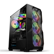 Computador Gamer I5 9600K, 8GB DDR4, HD 1TB, 400W, GTX 1050Ti 4GB OC