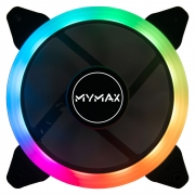 Cooler Gabinete Fan Mymax 120mm Aura Led RGB MYC/SR12025-5CF