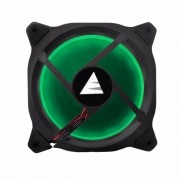 Cooler Ventoinha Bluecase Fan Ring BlueCase 12CM Verde BFR-05G