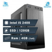 Computador Office Intel Core I5 2400, Ssd 120GB, 4GB DDR3, 200W
