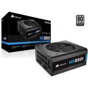 Fonte 80PLUS Platinum HX850I Corsair HXI 850W PFC Modular