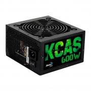 Fonte Aerocool KCAS 600W 80 Plus Bronze PFC Ativo 64802