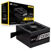 Fonte Corsair CX550 80 Plus Bronze - CP-9020121-WW