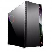 Gabinete Gamer C3Tech MT-G400BK RGB S/ Fonte Preto