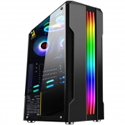Gabinete Gamer Ciclope RGB USB 3.0 Preto Mid Tower MCA-CICLOPE/BK