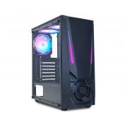 Gabinete K-Mex Gamer Jaeger I led RGB USB 3.0 CG-01TJ