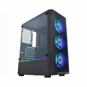 Gabinete KMEX CG02JT Boreas II Preto ARGB c/Cooler