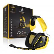 Headset Corsair Void Wireless Dolby 7.1 USB Yellow - CA-9011135-EU