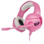 Headset Gamer Draxen Rosa - DN103