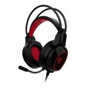 Headset Gamer Eros E2 Gamdias Preto e Vermelho Multiplataforma