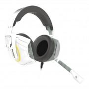 Headset Gamer Gamdias Hephaestus E1 RGB USB Branco