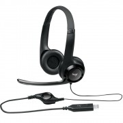 Headset Logitech H390 Audio Digital USB Preto 981-000014