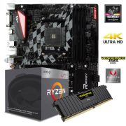 Kit Gamer Upgrade B350GT3 + Processador Ryzen 3 2200G + 8GB DDR4