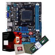 Kit Upgrade Asus M5a78l-m Lx/br + Fx 8300 Am3 + 8gb Ddr3
