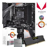 Kit Upgrade Gamer B450 Aorus Elite + Processador 200GE + 8GB DDR4