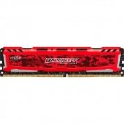 Memória DDR4 Crucial Ballistix Sport LT 8GB 2400Mhz BLS8G4D240FSEK