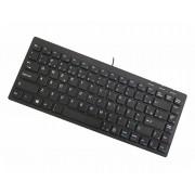 Mini teclado multimídia K-Mex KD-C328 87 teclas USB