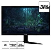 "Monitor Gamer Acer KG241 24"" Full HD 75Hz 1ms HDMI VGA"