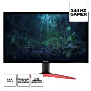 "MOnitor Gamer Acer KG241Q 23,6"" FullHD 144Hz 1Ms HDMI DVI Display Port"