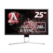 Monitor Gamer AOC LED AG251FG 24,5 240Hz FULLHD G-SYNC HDMI DP