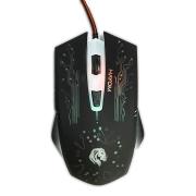 Mouse Gamer Hayom MU-2911 2400DPI 6 Botões Preto com LED RGB