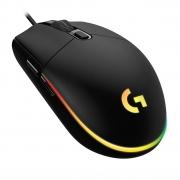Mouse Gamer Logitech G203 RGB 8000DPI 6 Botoes Preto 910-005793